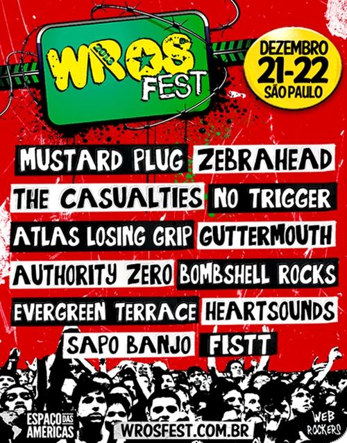 WROS Fest 2013 - Sao Paulo Brazil